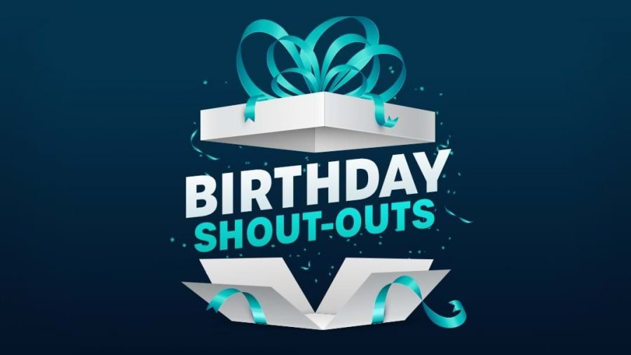 Birthday Shoutouts